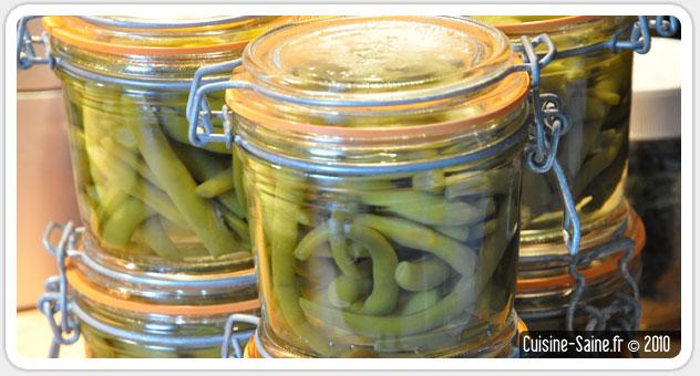 recette bocaux bocaux de haricot vert ou conserve de haricot vert cuisine saine. Black Bedroom Furniture Sets. Home Design Ideas