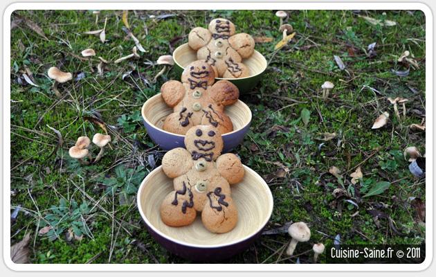Concours cuisine : les bonhommes en pain d'épices