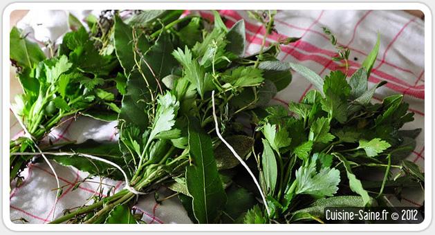 Blog cuisine bio : petits bouquets garnis