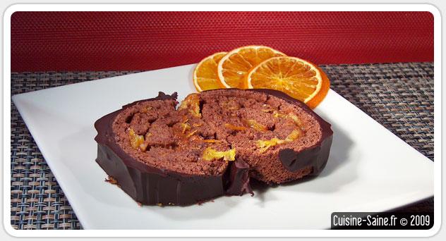 Recette bio b che sans gluten et sans cuisson chocolat marron cuisine saine - Buche marron chocolat sans cuisson ...
