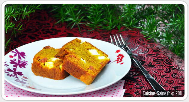 Recette Cake Chorizo Pomm
