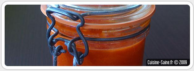Recette bocaux : coulis de tomates
