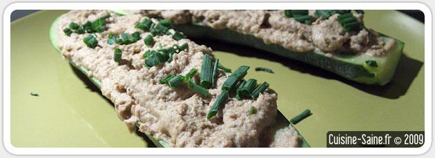 Recette de courgettes farcies aux sardines