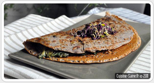 Recette Bio Crepes Sans œuf Sans Gluten Ni Lait Blog Cuisine