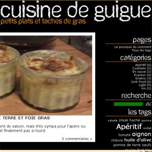 blog cuisine petits plats et taches de gras