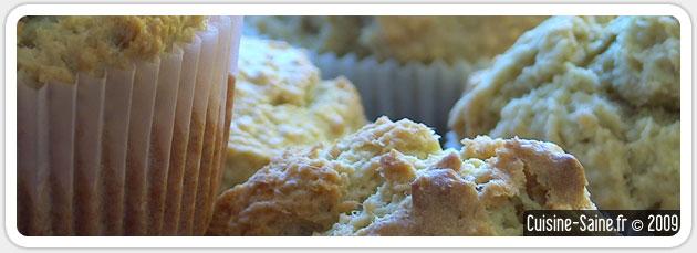 Recette bio : muffins à la noix de coco sans lait