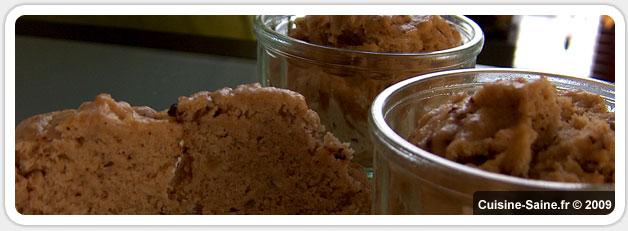 Recette bio : Pain vapeur sans gluten à la châtaigne