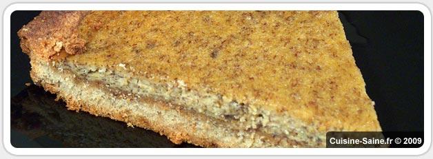 Recette bio : tarte à la banane sans gluten ni lait