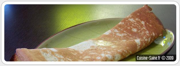 Recette sans gluten : crêpes à la noix de coco