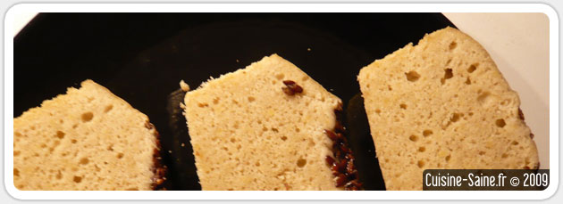 recette de pain sans gluten au sarrasin blog cuisine. Black Bedroom Furniture Sets. Home Design Ideas
