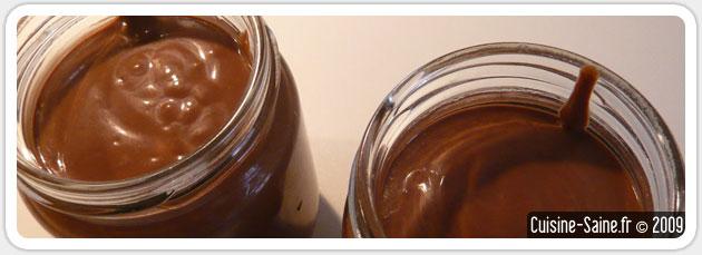 Recette de crème au chocolat sans gluten ni lait