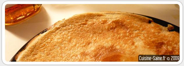 Recette de crêpes sans gluten ni lactose