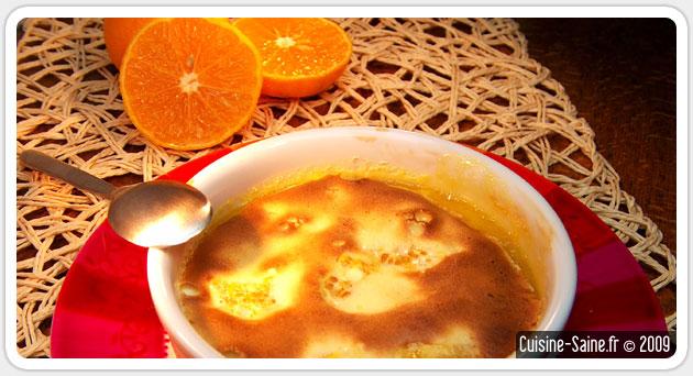 Recette sans gluten : gratin de clémentines au limoncello