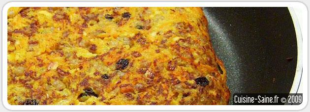 Recette bio et végétarienne : galette végétale au riz et à la carotte