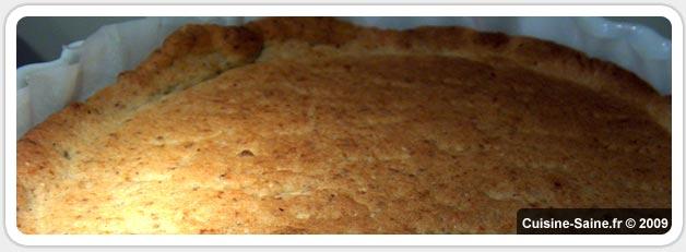 Pâte sablée sans gluten ni beurre pour biscuit ou fond de tarte