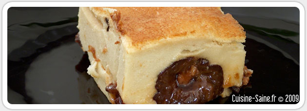 Recette bio : far breton aux pruneaux sans gluten ni lait