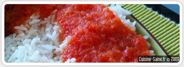 Recette bio : coulis de poivrons et de tomates super facile