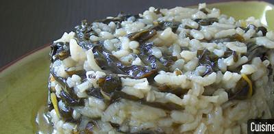 Recette bio : risotto aux blettes