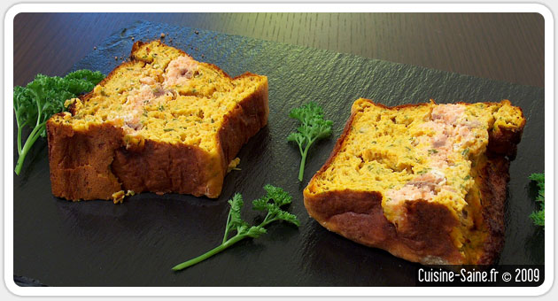 Recette sans gluten : terrine de saumon aux carottes