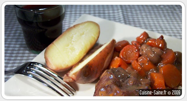 Recette d'hiver : bœuf bourguignon