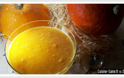 Recette vegan sans gluten : panna cotta à la courge butternut