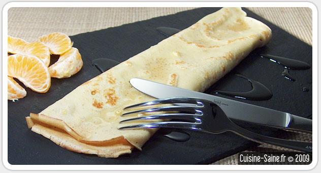 Recette sans gluten : crêpes à la vanille sans gluten