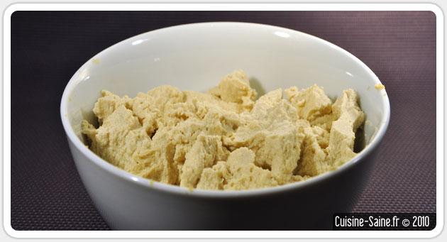 Tofu soyeux à la vanille fait maison vite fait bien fait