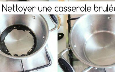 Nettoyer une casserole brûlée – Récupérer une casserole carbonisée