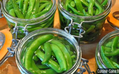 Recette bocaux : bocaux de haricot vert (ou conserve de haricot vert)