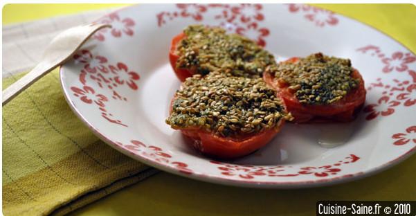 recette bio tomates provencales blog cuisine saine sans gluten sans lactose. Black Bedroom Furniture Sets. Home Design Ideas