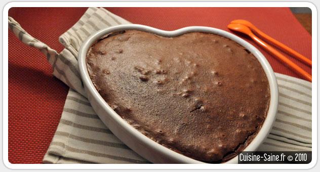 Gâteau au chocolat et potimarron