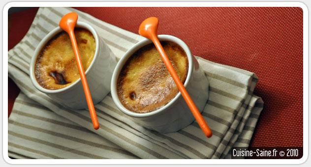 Recette bio : crème aux oeufs (sans lait de vache !)