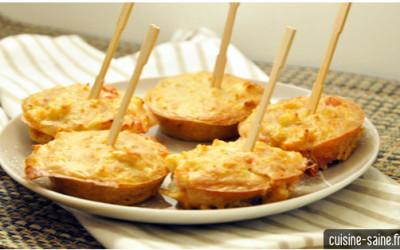 Recette sans gluten : galette de chou fleur