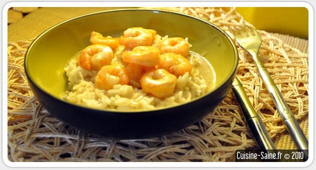 Recette Sans Gluten Gambas Au Lait De Coco Blog Cuisine Saine