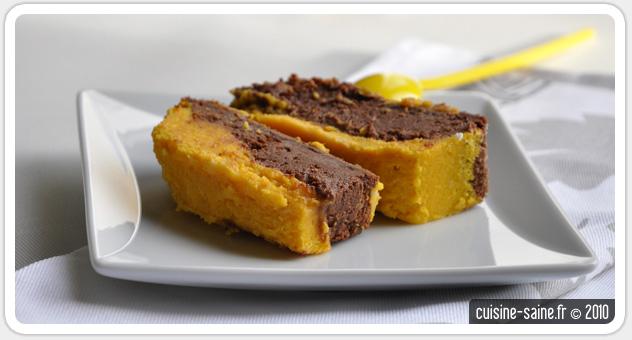 recette bio g teau duo de chocolat et courge butternut cuisine saine. Black Bedroom Furniture Sets. Home Design Ideas