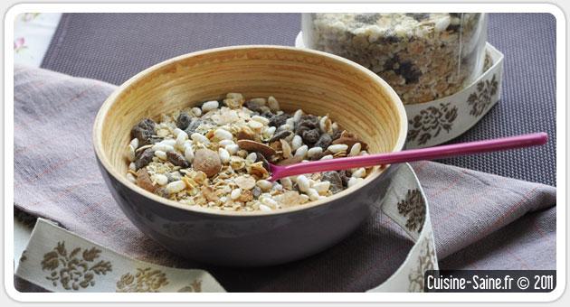 Recette muesli maison sans gluten ventana blog - Blog cuisine bio saine ...