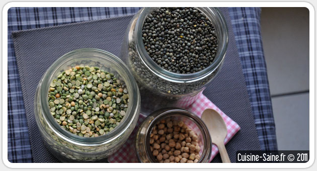 Cuisine bio : les légumineuses ou légumes secs