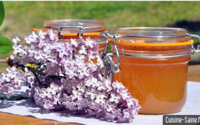Recette bio : gelée de lilas