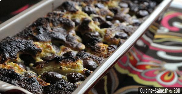 Recette sans gluten : cake au fromage blanc et cerises