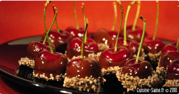Recette bio : bonbon cerise