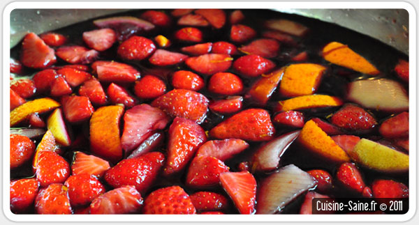 recette d 39 t sangria au sirop d 39 agave blog cuisine saine sans gluten sans lait. Black Bedroom Furniture Sets. Home Design Ideas