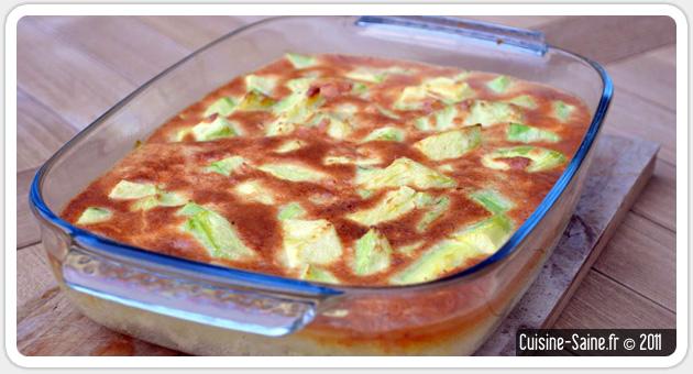 Gratin de courgette au ch vre - Cuisine saine et simple ...