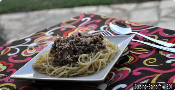 Recette d'été : sauce bolognaise à préparer à l'avance