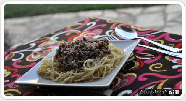 Recette d 39 t sauce bolognaise pr parer l 39 avance blog cuisine saine sans gluten sans lait - Recette a preparer a l avance ...
