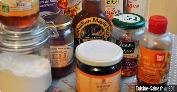 Recettes sans sucre : les édulcorants naturels et les sucres naturels
