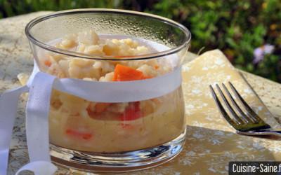 Concours cuisine : risotto de noix de Saint Jacques