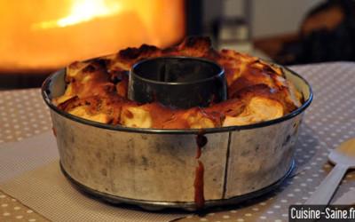Recette sans gluten : gateau aux pommes