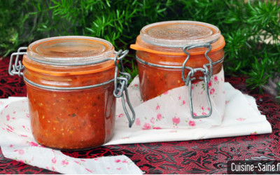 Recette bocaux : conserve de sauce tomate aux herbes