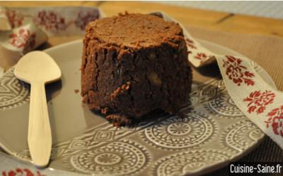 Recette sans oeuf : gateau chocolat / marron