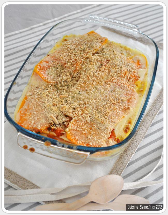 Recette végétalienne : lasagnes végétales à la courge butternut